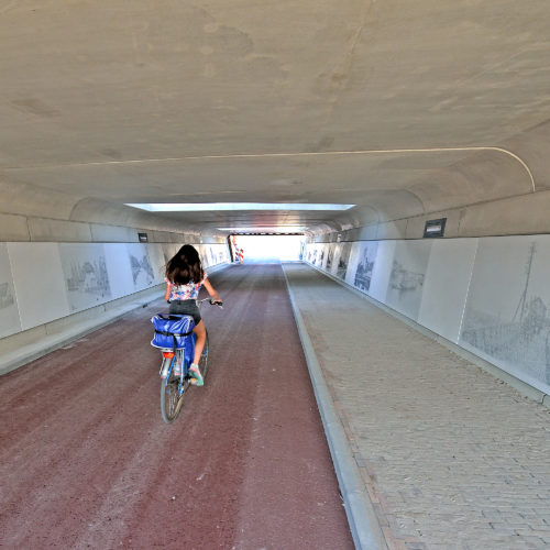 Fietstunnel Lent Middlefield-Projects